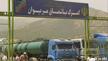 Bashmagh Iran - Irak Grenzübergang © mehr