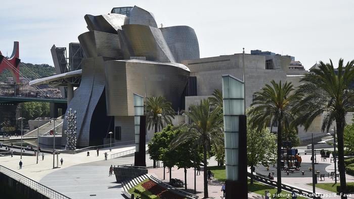Spanien Guggenheim-Museum Bilbao