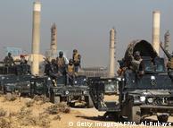 Иракские войска входят в Киркук