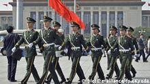 Peking Vor dem Parteitag in China