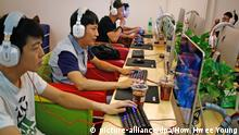 China Internet-Cafe in Peking