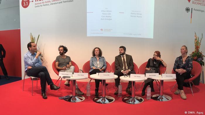 Frankfurter Buchmesse 2017   Veranstaltung Kritische Stimmen aus der Türkei