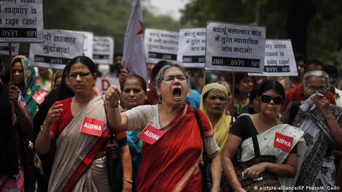 Protest against rape in New Delhi, India (picture-alliance/AP Photo/A. Qadri)