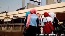 Ägypten Straßenszene in Kairo