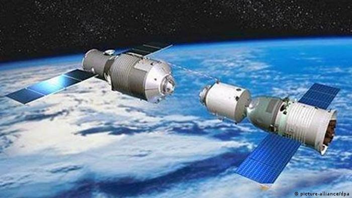 China Shenzhou 10 dockt an Tiangong-1 (picture-alliance/dpa)