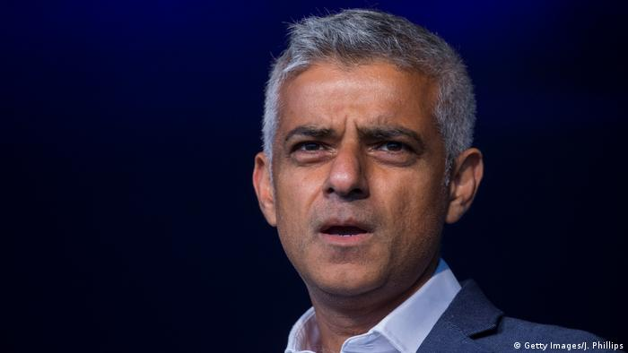 Sadiq Khan Bürgermeister von London (Getty Images/J. Phillips)