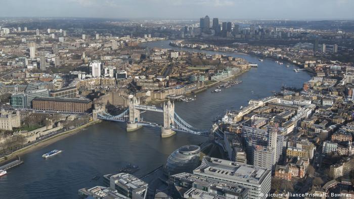 England Skyline von London