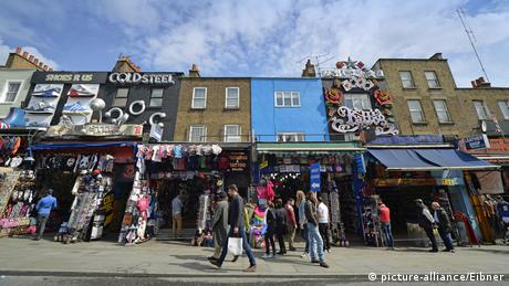 Great Britain colorful facades, Camden Market, Camden Town, London (picture-alliance/Eibner)