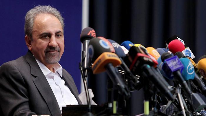 Iran Mohammad-Ali Nadschafi Bürgermeister von Teheran