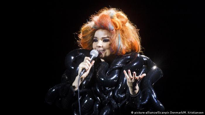 Këngëtarja islandeze Björk