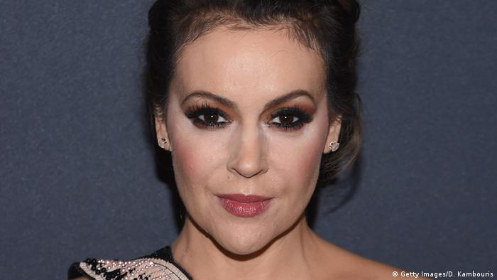 Alyssa Milano US Schauspielerin (Getty Images/D. Kambouris)