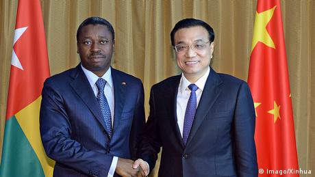 Togo Präsident Faure Gnassingbe Premierminister Li Keqiang China (Imago/Xinhua)