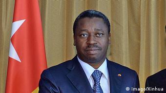 Togo Präsident Faure Gnassingbe (Imago/Xinhua)