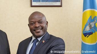 Präsident Burundi Pierre Nkurunziza (Imago/photothek/U. Grabowski)