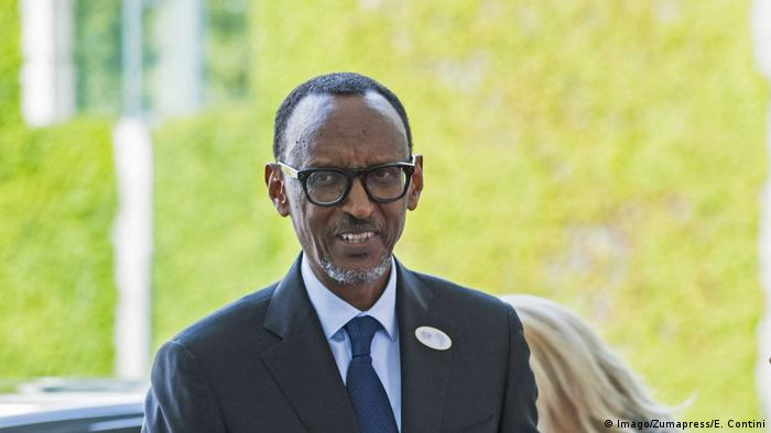 President Paul Kagame during an official visit to Germany 2017 (Imago/Zumapress/E. Contini)