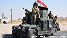 Irak Regierungstruppen in Kirkuk (picture-alliance/AA/A.M. Garip )