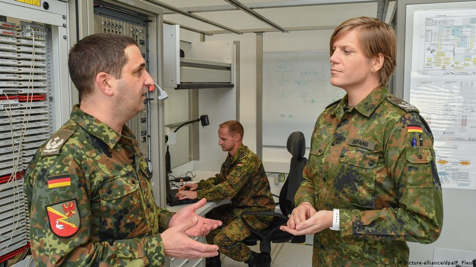Meet Anastasia: Germany's first transgender army commander