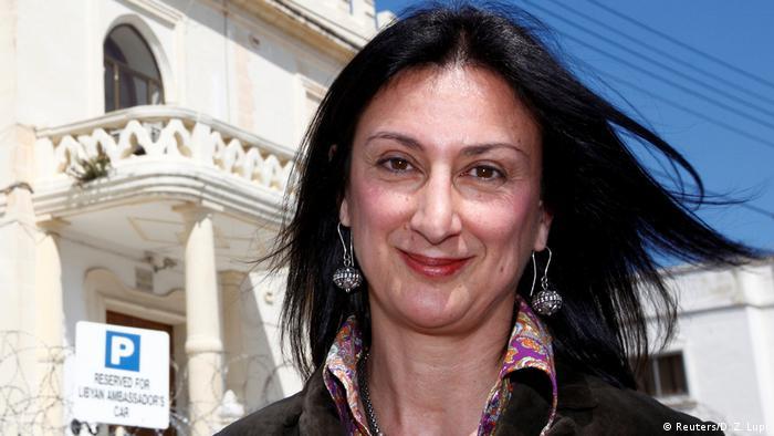 Maltesische Bloggerin getötet Daphne Caruana Galizia (Reuters/D. Z. Lupi)