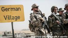 Irak Bnaslawa nahe Erbil Ausbildung der Peshmerga durch die Bundeswehr