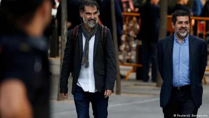Spanien - Separatisten Jordi Cuixart und Jordi Sanchez bleiben in Haft (Reuters/J. Barbancho)