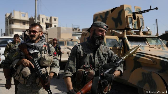 Syrien Befreiung von Rakka (Reuters/R. Said)