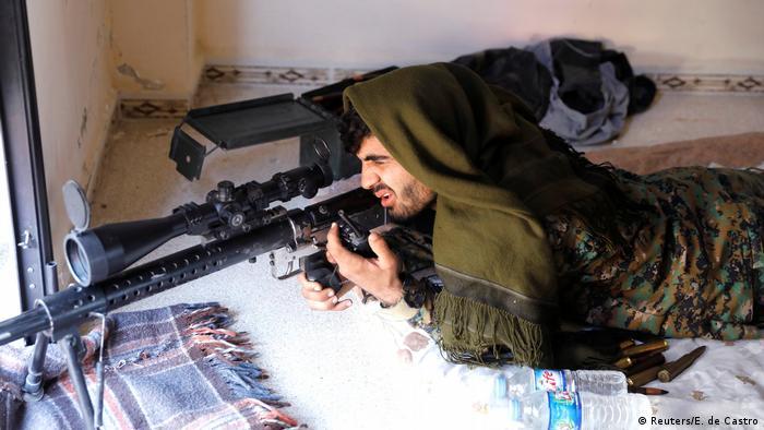 Syrien Befreiung von Rakka (Reuters/E. de Castro)