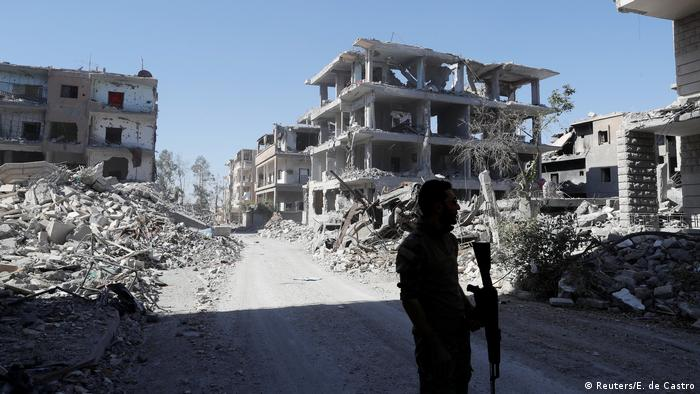 Resultado de imagen para Estados Unidos niega haber participado en el bombardeo de Al Bukamal en Siria