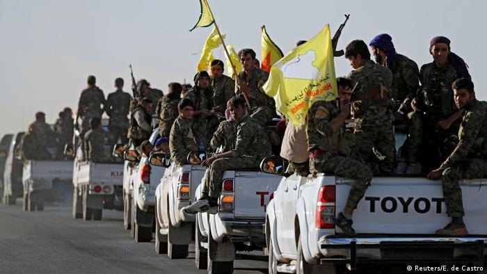 Belkemiğini YPG'nin oluşturduğu Suriye Demokratik Güçleri Rakka'da.