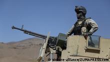 Afghanistan Militärmanöver in der Ghazni Provinz