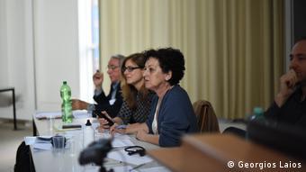 Η Σεβαστή Τρουμπέτα από το Κέντρο Νέου Ελληνισμού στο Ελεύθερο Πανεπιστήμιο του Βερολίνου.