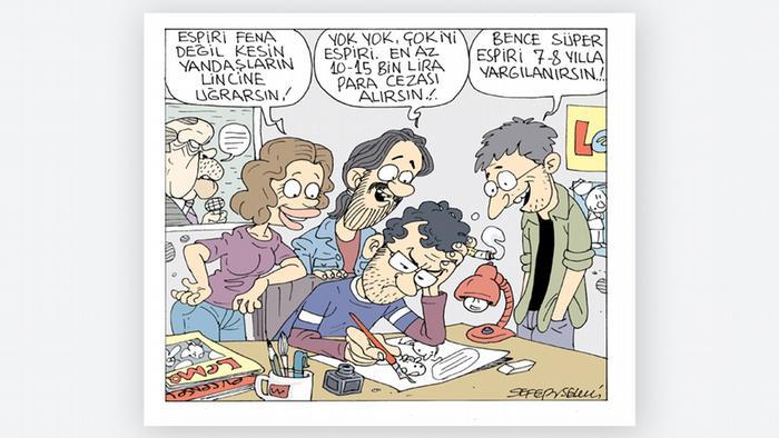 Türkei Karikatur von: Sefer Selvi 12.10.2017