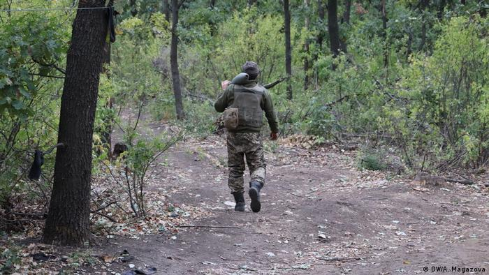Військовий ЗСУ на Донбасі