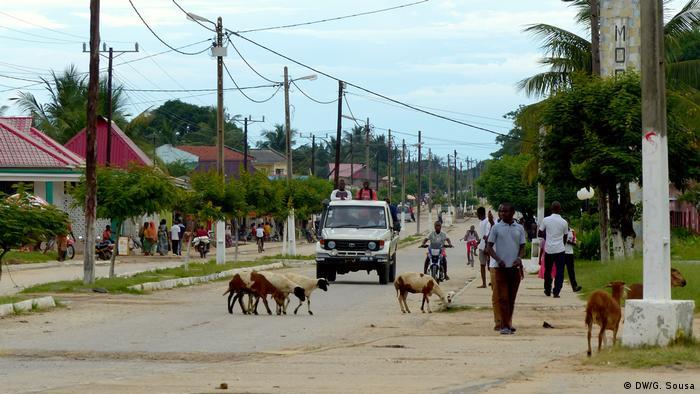 Mosambik Mocímboa da Praia (DW/G. Sousa)