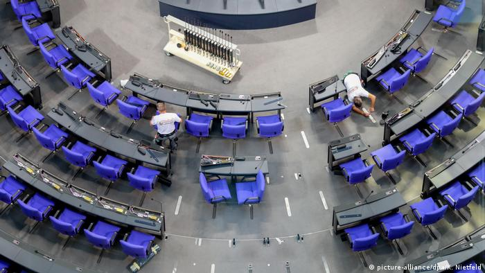 Bundestag floor