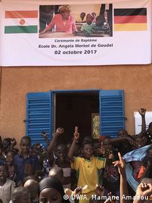 Niger Eröffnung der Angela-Merkel-Schule in Niamey