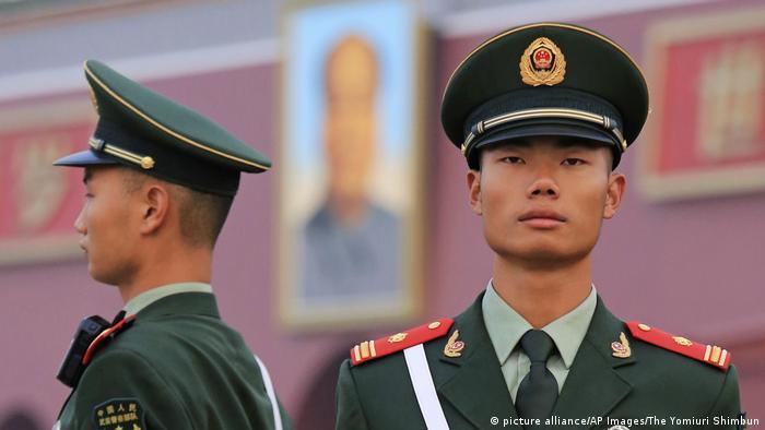 China Vorbereitungen für Parteitag der Kommunistischen Partei | Sicherheit (picture alliance/AP Images/The Yomiuri Shimbun)