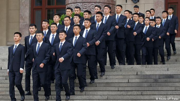 China Vorbereitungen für Parteitag der Kommunistischen Partei | Sicherheit (Reuters/T. Peter)