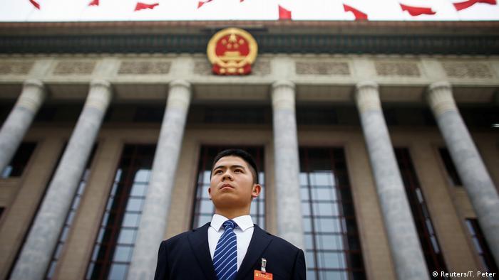 China Vorbereitungen für Parteitag der Kommunistischen Partei   Sicherheit (Reuters/T. Peter)
