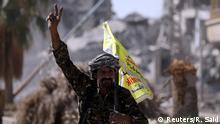 Syrien Kampf um Rakka