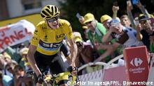 Frankreich Tour de France Alpe d'Huez | Froome 2015 (Getty Images/AFP/L. Bonaventure)