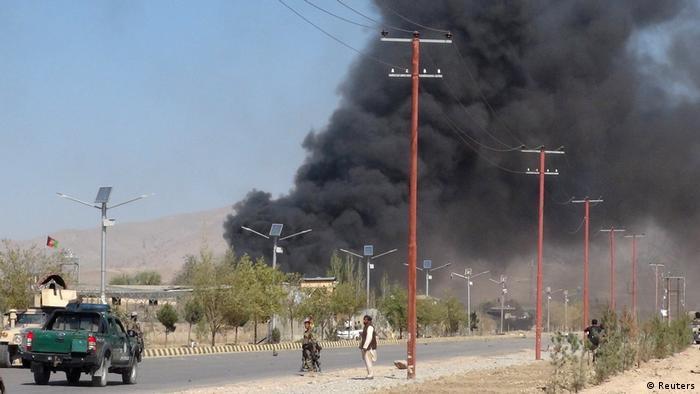 Afghanistan Anschlag auf Polizei in Gardes (Reuters)