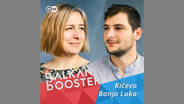 Društvena aktivistkinja Leila Šeper je u Banjoj Luci dočekala albanskog novinara iz makedonskog Kičeva Arbera Bajramija.