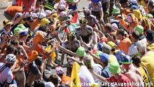 Frankreich Tour de France Alpe d'Huez   Robert Gesink