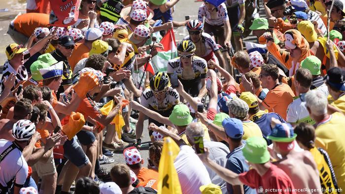 Francia Tour de France Alpe d'Huez.