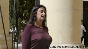 Malta Bloggerin Daphne Caruana Galizia (Getty Images/AFP/M. Mirabelli)