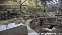 Israel Klagemauer in Jerusalem Ausgrabungen