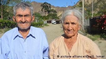 Ecuador Vilcabamba - Steinalt in Vilcabamba (picture-alliance/dpa/G. Ismar)