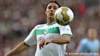 Pizarro u Werderovom dresu