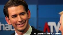 Österreich Wien Hofburg Nationalratswahl 15. Oktober 2017