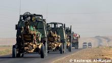 Artillery belonging to Iraqi army are seen southwest of Kirkuk, Iraq October 17, 2017. REUTERS/Alaa Al-Marjani